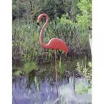 Realmingo Pink Flamingos by Don Featherstone Lawn / Yard Art-Set of 2